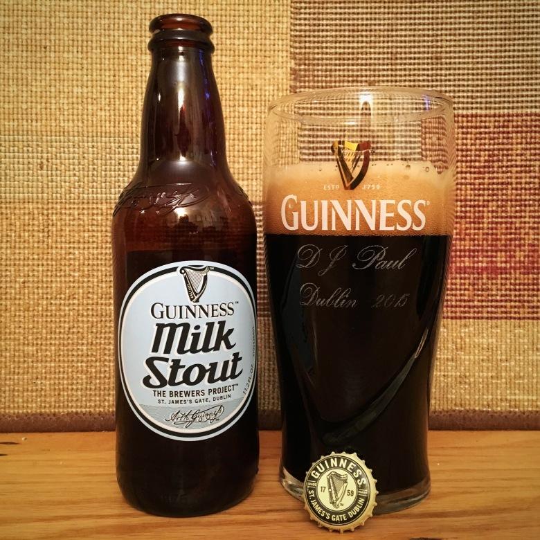 Guinness milk stout